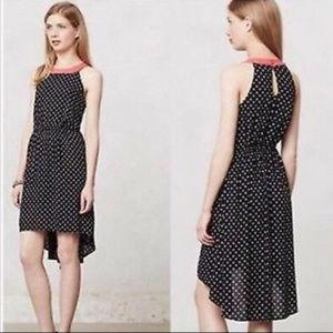 Lilka Large Lark Black Polkadot halter dress